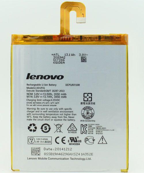 باتری تبلت لنوو LENOVO A3500 مدل L13D1P31 با ۶ ماه گارانتی اورجینال